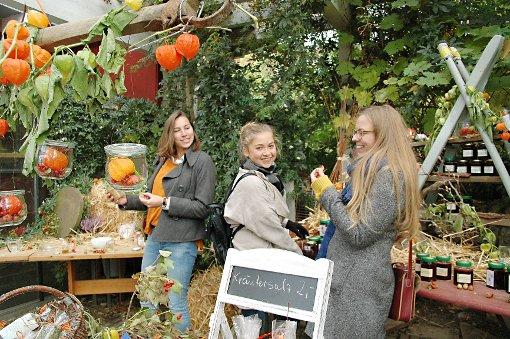 Entdecken und testen: Dazu luden auch die Produkte des Schulgartens ein.    Foto: Ursula König Foto: Die Oberbadische