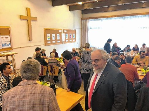 """Großes Interesse fand der """"Indonesien-Tag"""" im evangelischen Gemeindehaus in Tegernau.   Foto: zVg Foto: Markgräfler Tagblatt"""
