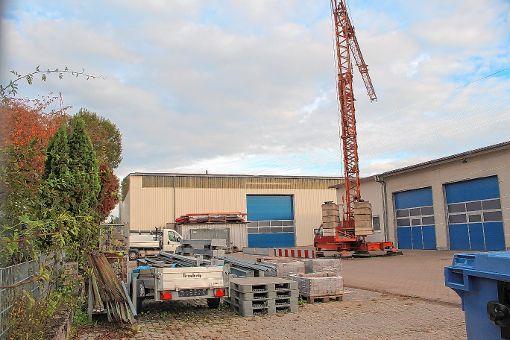 Der Werkhof erhält überdachte Stellplätze.   Foto: Anja Bertsch Foto: Markgräfler Tagblatt