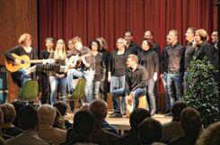 Der Gesangverein Egringen umrahmte den Neujahrsempfang musikalisch. Foto: Ingmar Lorenz