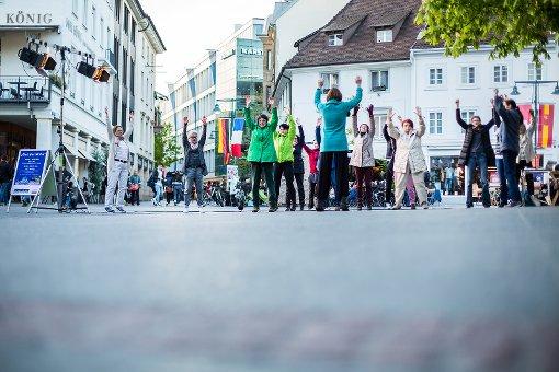 Lörracher Impressionen der ersten Kulturnacht. Fotos: Kristoff Meller Foto: Kristoff Meller