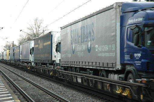 Der Zugverkehr soll wenig Lärm machen.   Foto: Marco Fraune Foto: Die Oberbadische