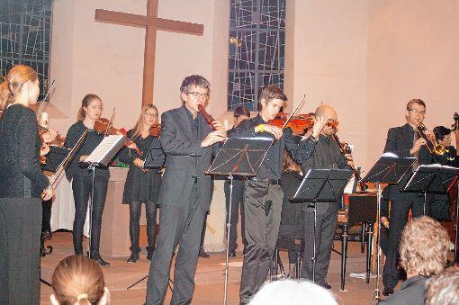 Konzert mit Ausnahmecharakter: Das Landesjugendbarockorchester gastierte am Dreikönigstag in der Petruskirche.     Foto: Ines Bode Foto: Markgräfler Tagblatt