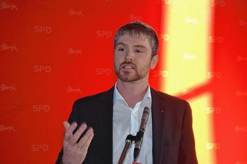 Jonas Hoffmann ist der neue Hoffnungsträger der Sozialdemokraten für die Bundestagswahl.   Foto: Marco Schopferer Foto: Die Oberbadische
