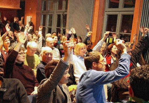 Mit großer Mehrheit beauftragte die Versammlung die Nellie-Geschäftsleitung, ein Konzept für eine mögliche Integration des Nellie in den SAK zu erarbeiten.  Foto: Markus Greiß Foto: Die Oberbadische