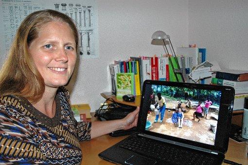 Die Schreinerin Isabella Anders hat in Kamerun eine andere Welt erlebt.   Foto: Ursula König Foto: Die Oberbadische