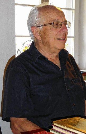 Yves Bisch war zu Gast bei der Muettersproch-Gsellschaft in Hausen.   Foto: zVg Foto: Markgräfler Tagblatt