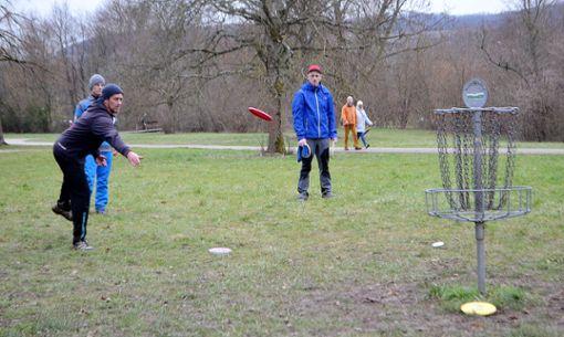 Turnierdirektor Martin Jenny (l.) war auch als Sportler aktiv bei den Chili Open dabei.   Foto: Susann Jekle Foto: Die Oberbadische