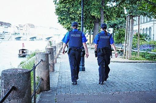 Zum Konzept gehört auch vertsärkte Polizeipräsenz.     Foto: zVg/Kantonspolizei Foto: Die Oberbadische