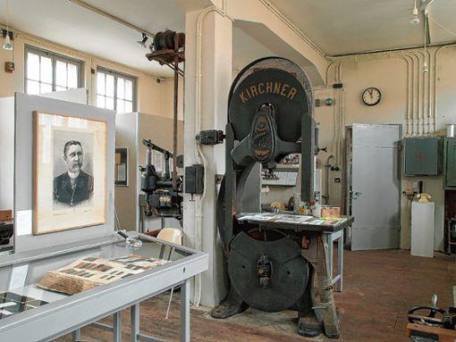 Blick in die neue Ausstellung im Textilmuseum. Foto: zVg