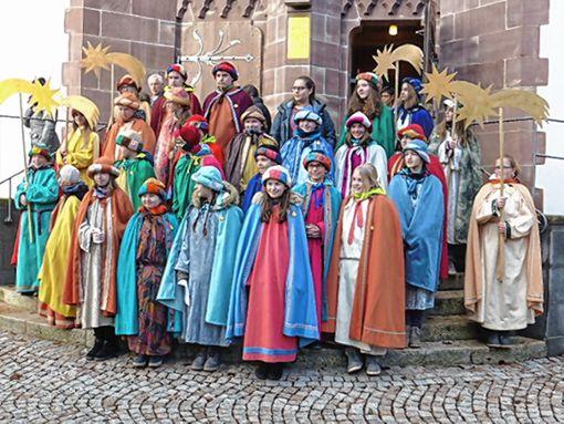 Im oberen Wiesental waren auch in diesem Jahr wieder viele Sternsinger unterwegs.     Foto: Heiner A. Baur Foto: Markgräfler Tagblatt