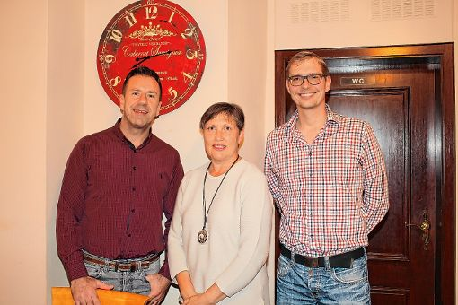Der Vorstand des Krankenhaus-Fördervereins (von links): Jasmin Spahic, Dagmar Fuchs und Stefan Weihrauch. Foto: Markgräfler Tagblatt