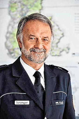 Polizeipräsident Bernhard Rotzinger aus Freiburg wird zu Gast bei der CDU sein und über die Sicherheitslage im Dreiländereck sprechen.      Foto: zVg Foto: Weiler Zeitung
