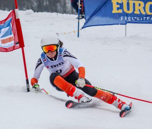 Ronja Wiesler gewinnt Slalom-Konkurrenz. Foto: Siegmund