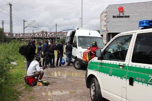 In den Sommermonaten wurden viele illegal eingereiste Flüchtlinge aufgegriffen.   Foto: Siegfried Feuchter Foto: Die Oberbadische
