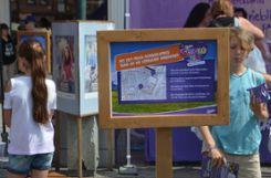 Impressionen vom elften Milka Schokofest in Lörrach Foto: Susann Jekle Foto: mek