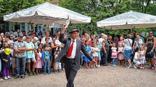 Erlebnis- und aktionsreich war das Miteinander-Fest.   Foto: Daniela Buch Foto: Weiler Zeitung