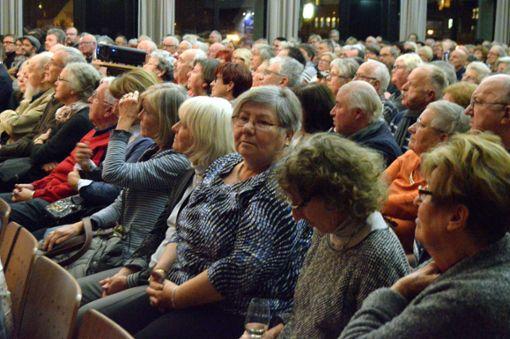 Die Premiere des Grenzach-Wyhlen-Films im Haus der Begegnung war ein voller Erfolg. Foto: Veronika Zettler Foto: tn