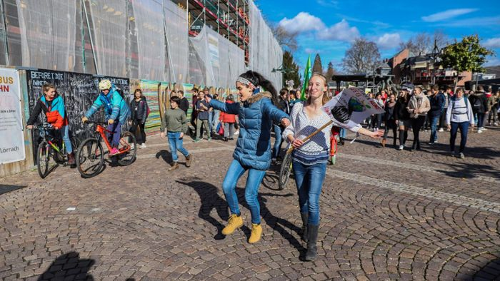 Lörrach: Fridays for Future feiert Einjähriges