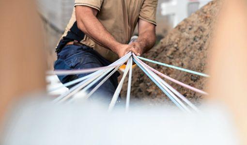 In den Tallagen im Landkreis Lörrach geht der Netzausbau zügig voran. Foto: Archiv