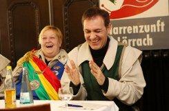 Hatten sichtlich Spaß: Monica Rexrodt und Jörg Lutz. Fotos: Kristoff Meller Foto: mek