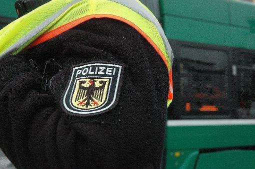 Die Bundespolizei kontrolliert verstärkt.  Foto: Marco Fraune Foto: Weiler Zeitung