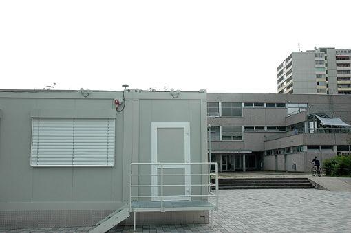 Ende des Schuljahres wird der nördlich gelegene Bereich der Schule leer geräumt und die Schüler werden in den Containern unterrichtet.   Foto: Marco Fraune Foto: Weiler Zeitung