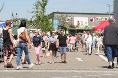 Impressionen vom Frühlingsmarkt Binzen Foto: ag
