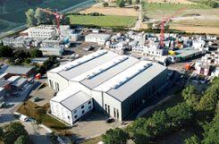 Blick auf das große Firmenareal der Würzburger GmbH in Rheinweiler. Foto: zVg