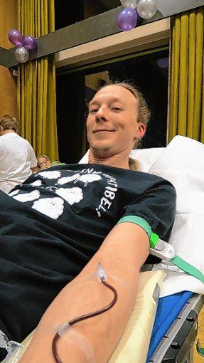 Blutspender sind bei der Aktion des DRK willkommen. Foto: wz