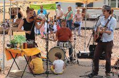 Ben Meech machte Musik. Foto: Markgräfler Tagblatt