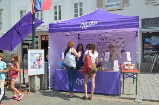 Impressionen vom elften Milka Schokofest in Lörrach Foto: Susann Jekle Foto: Susann Jekle
