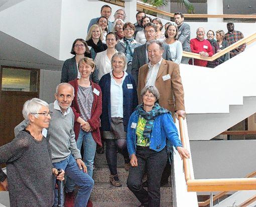 Die Arbeitsgruppe Integration beim ersten Workshop Ende Oktober im Landratsamt Lörrach. Foto: zVg