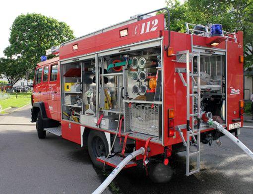 Die Feuerwehr Hausen und Schopfheim waren mit rund zehn Einsatzkräften im Einsatz. (Symbolbild) Foto: Meller/Archiv