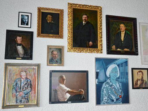 Die  Bürgermeistergalerie im Rathaus   Foto: zVg Foto: Die Oberbadische