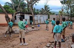 Lara Koska leistete 10 Wochen Sozialdienst in Ghana    . Foto: zVg Foto: Die Oberbadische