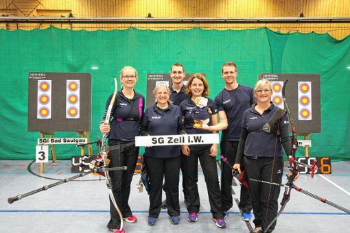 Elisabeth Keßler, Sylvia Woywod, Felix Fuhrler, Betreuerin Karin Schinken, Frank Päßler und Ute Rapp (von links).    Foto: zVg Foto: Markgräfler Tagblatt