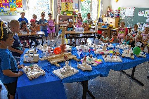 Eindrucksvolle Ergebnisse konnten die Grundschüler nach ihren Projekttagen präsentieren.   Fotos: zVg Foto: Markgräfler Tagblatt