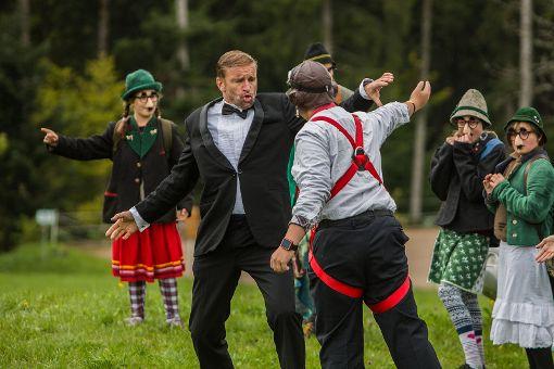 Impressionen der Premiere von James Blond – Ein Agent ist nicht genug des Theater in den Bergen Foto: Kristoff Meller Foto: Kristoff Meller