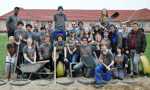 Gruppenbild aus dem vergangenen Jahr: Einige der Schüler fahren auch dieses Jahr wieder mit.  Foto: zVg Foto: Weiler Zeitung