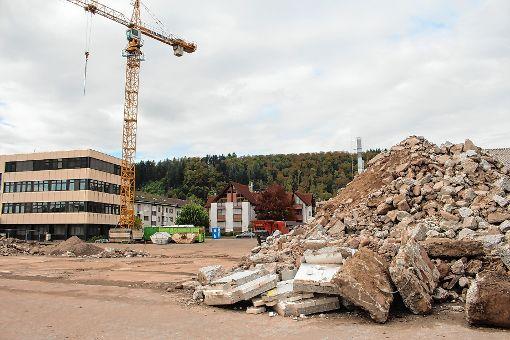Die planerischen Weichen für das künftige Wohnquartier Roggenbachstraße sind gestellt.    Foto: Anja Bertsch Foto: Markgräfler Tagblatt