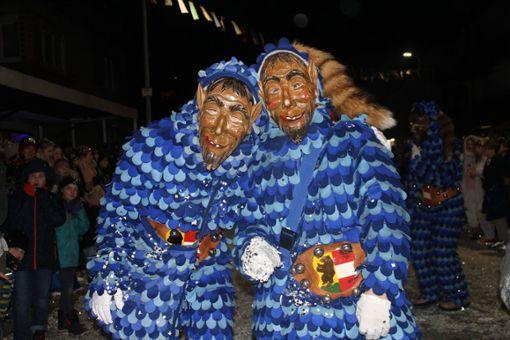 Impressionen vom Wyhlener Nachtumzug am Rosenmontag. Foto: Tim Nagengast Foto: Nagengast