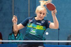 Die Waliserin Charlotte Carey rückt  auf die Spitzenposition vor.   Fotos: Marco Steinbrenner Foto: Die Oberbadische