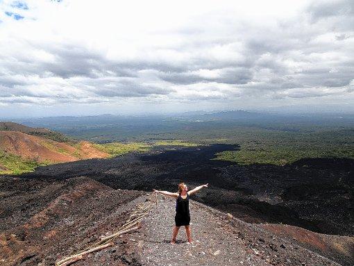 Ein Jahr Friedensdienst in Costa Ricaa absolvierte Chiara Stocker, die von der Natur in dem südamerikanischen Land sehr beeindruckt war.    Foto: zVg Foto: Markgräfler Tagblatt