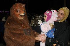 Impressionen vom Wyhlener Nachtumzug am Rosenmontag. Foto: Tim Nagengast Foto: tn