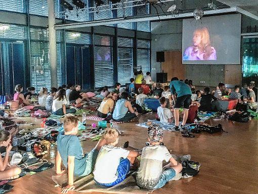 Gelungene Premiere für das Sommernachtskino am Kreisgymnasium in Neuenburg.  Foto: zVg Foto: Weiler Zeitung