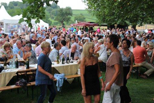 Impressionen vom Sektfestival bei der Bezirkskellerei Efringen-Kirchen Foto: Siegfried Feuchter Foto: Siegfried Feuchter