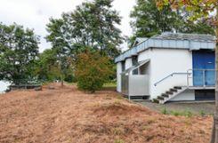 Die Rheinüberwachungsstation befindet sich unweit der Palmrainbrücke am Weiler Rheinufer und arbeitet nun seit 25 Jahren.     Fotos: Jasmin Soltani Foto: Weiler Zeitung