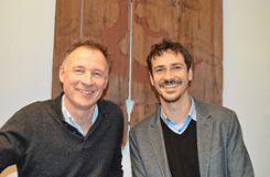 Frank Leichsenring (l.) und Lukas Harlan     Foto: Veronika Zettler Foto: Die Oberbadische