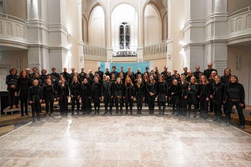 Das umfangreichste Vokalwerk Bachs, die Matthäuspassion, führt die Kantorei am 14. April in der evangelischen Stadtkirche auf. Foto: zVg